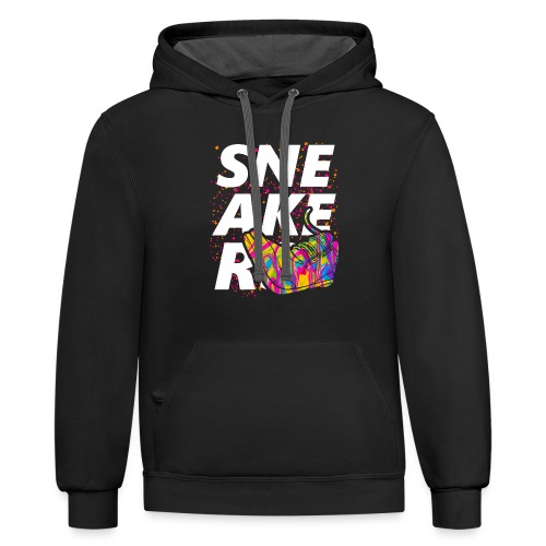 Sneaker Collection - Contrast Hoodie
