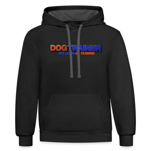 DOG TRAINER: OLK9 - Contrast Hoodie