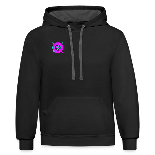 Electric Nonsense - Contrast Hoodie