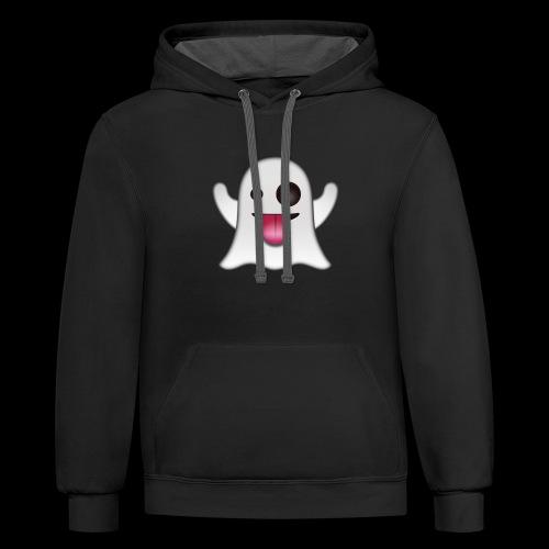 Ghost Emote - Contrast Hoodie