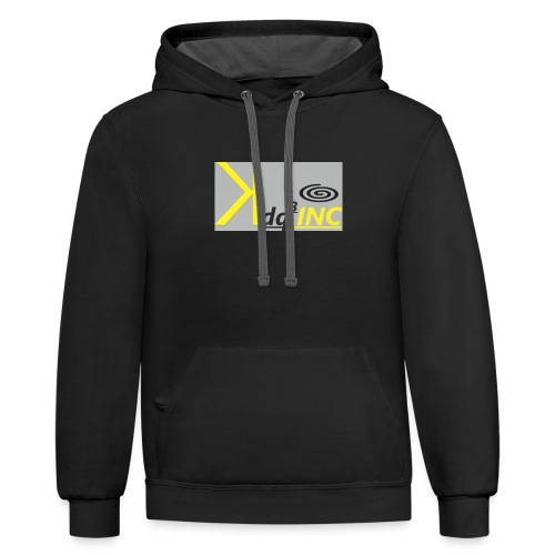 Yellow Ink - Contrast Hoodie