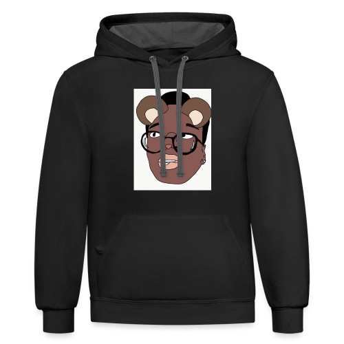 animated Me - Contrast Hoodie