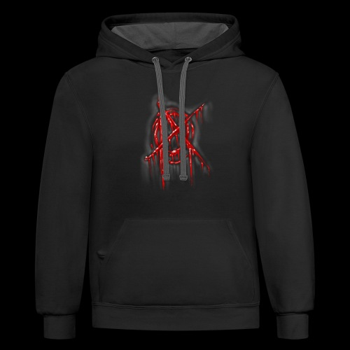 Anarchy In the flesh - Contrast Hoodie