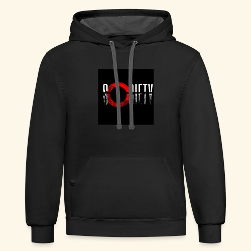 Society is a online community - Contrast Hoodie
