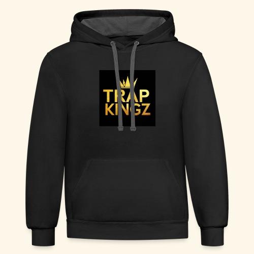 Trap kingz - Contrast Hoodie