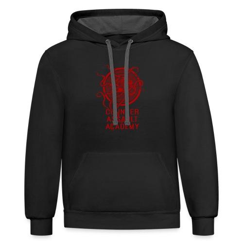 Counter Assault Academy Octopus Logo - Contrast Hoodie