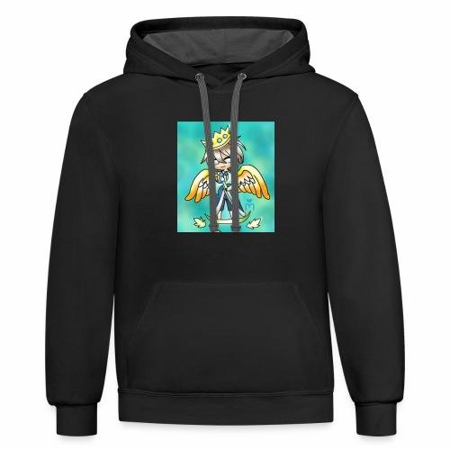 Vossify Premium Merchandise - Contrast Hoodie