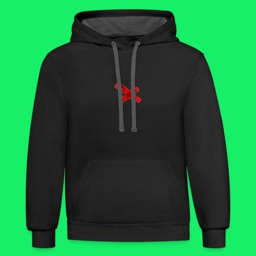 original logo - Contrast Hoodie