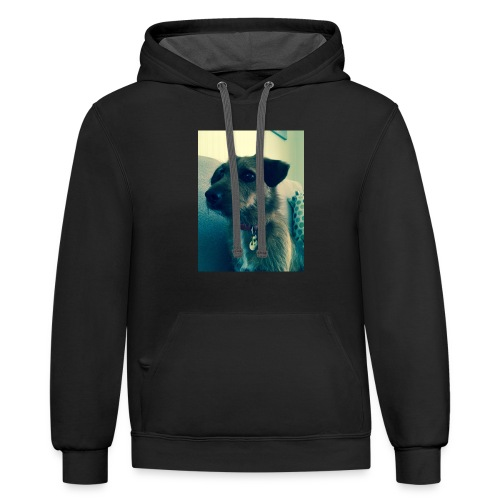 Candys face - Contrast Hoodie