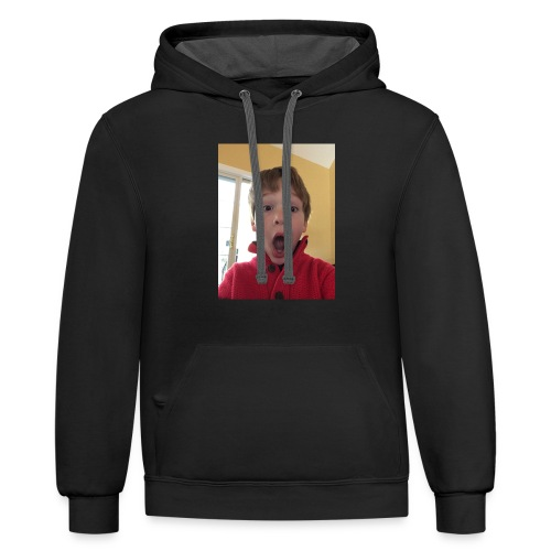 I Have Secret Merch!!! - Contrast Hoodie