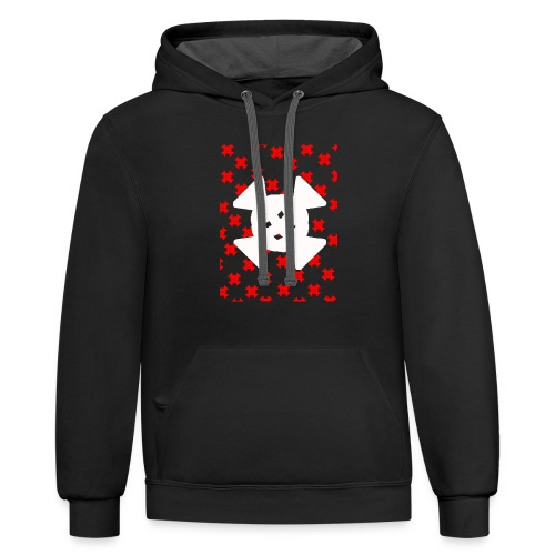 CANDYS R AND W - Contrast Hoodie