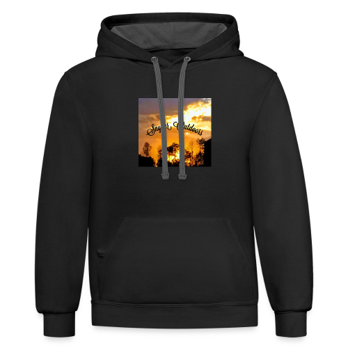 Sunset SnyderOutdoors - Contrast Hoodie