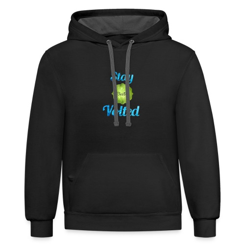 cheaper logo - Contrast Hoodie
