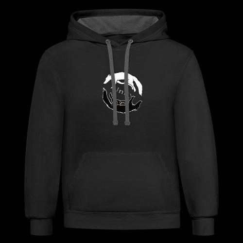 Wolf Circle - Contrast Hoodie