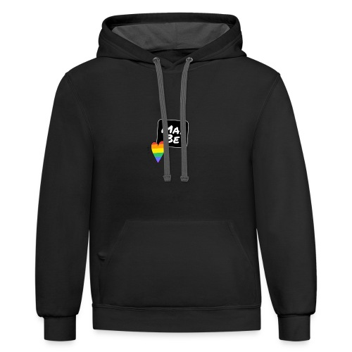 Maybe T-shirts - Contrast Hoodie