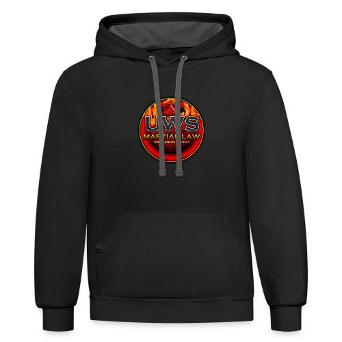 UWS MARTIAL LAW - OFFICIAL TRIBE GEAR - Contrast Hoodie