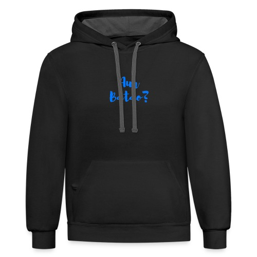 AUR BATAO - Contrast Hoodie