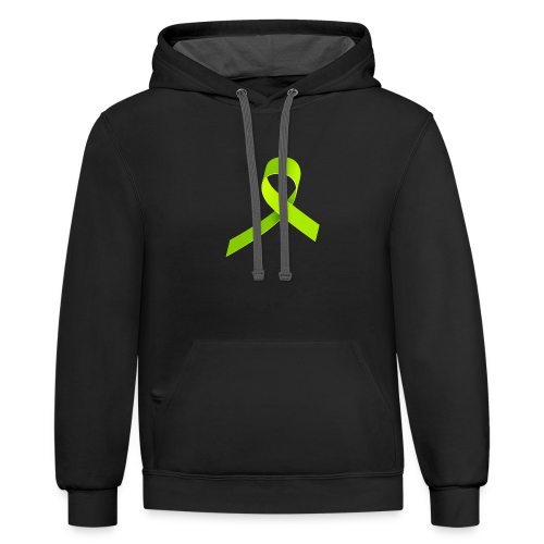Code Green Support - Contrast Hoodie