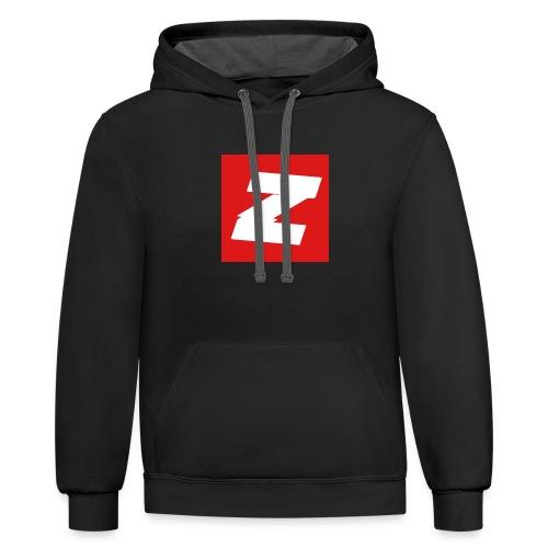 Zmite Logo - Contrast Hoodie