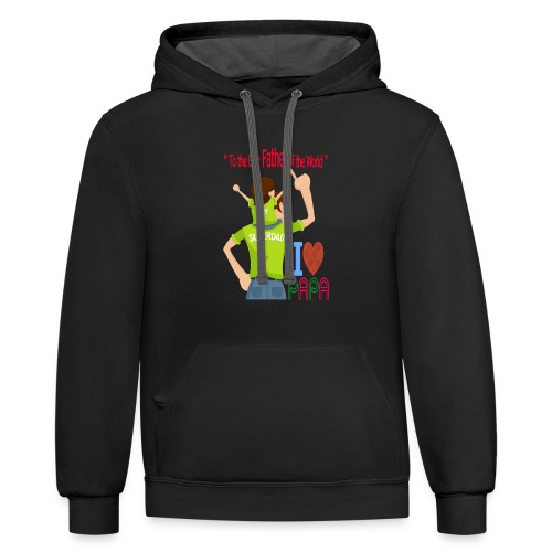 Father and son - Contrast Hoodie