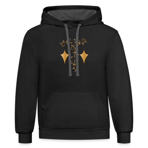 art ofdecoration - Contrast Hoodie