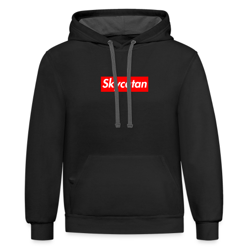 Limited Edition Supreme SkyCatan Logo - Contrast Hoodie