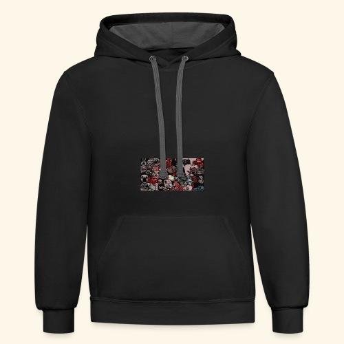 The Binding Of Isaac All bosses hoodie - Contrast Hoodie