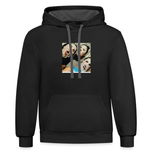 Yesenia - Contrast Hoodie