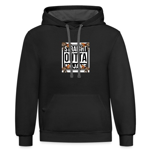 STRAIGHT OUTTA MOJAVE - Contrast Hoodie