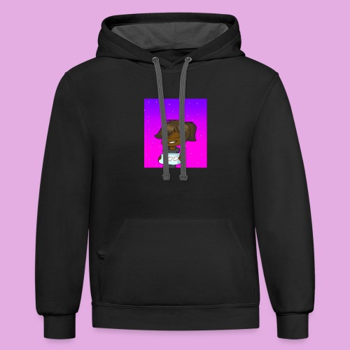 Thank you! - Contrast Hoodie