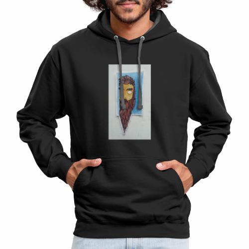 Timber man growing - Contrast Hoodie