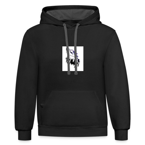 lthe dawg merch - Contrast Hoodie