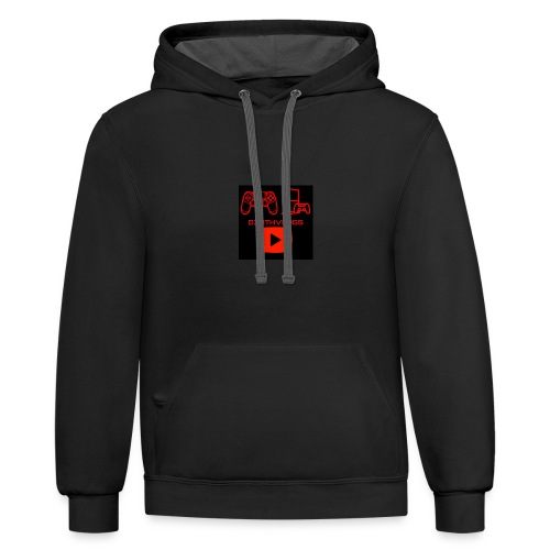 D3athVlogs - Contrast Hoodie