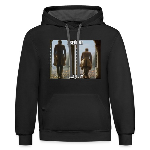 King Tommen Forever! - Contrast Hoodie