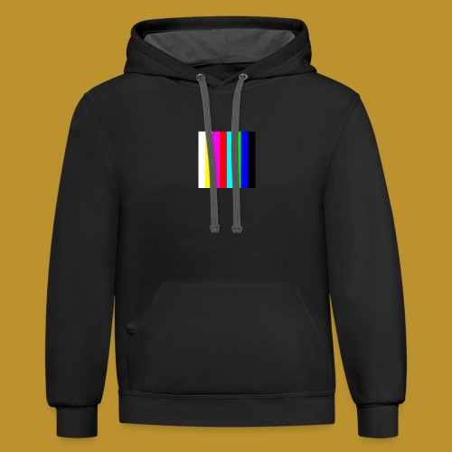 Young13 - Contrast Hoodie