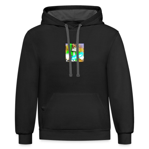 LuckBear Army Outfits and More - Contrast Hoodie