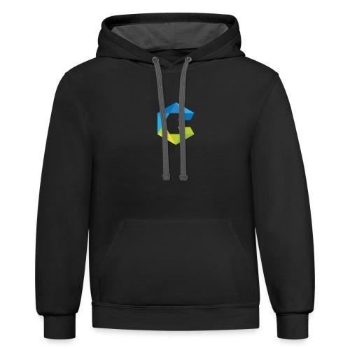 CryptoInsiders 1 - Contrast Hoodie