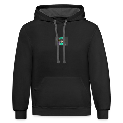 Bro's For Life - Contrast Hoodie