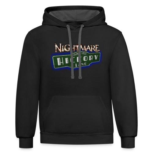 Nightmare on Hickory Lane - Contrast Hoodie