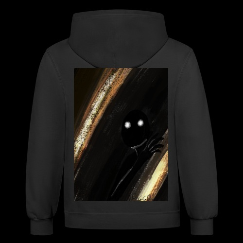 shadow monster - Contrast Hoodie