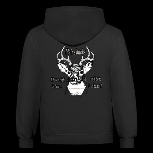 Maine Bucks - Contrast Hoodie