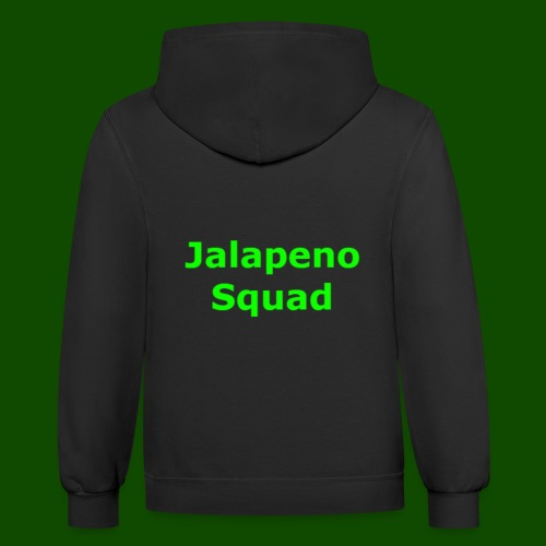 Jalapeno Squad Shirts And Hoodies - Contrast Hoodie