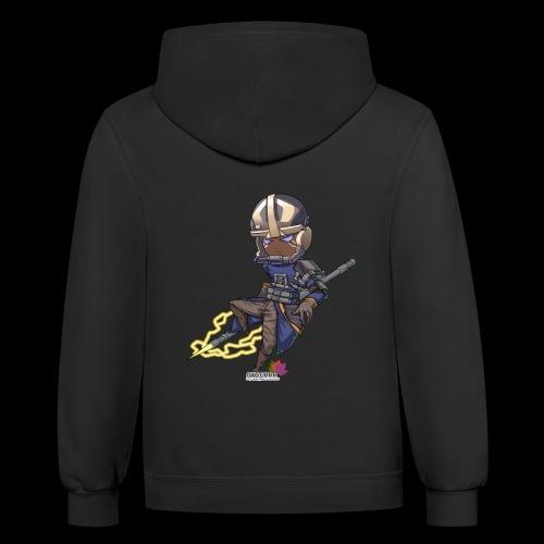 Vainglory Idris T-shirt - Contrast Hoodie