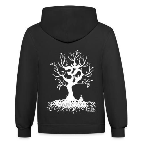 OHM TREE - Contrast Hoodie