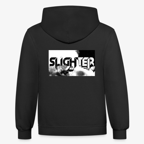 Slighter Logo Corrosion - Contrast Hoodie
