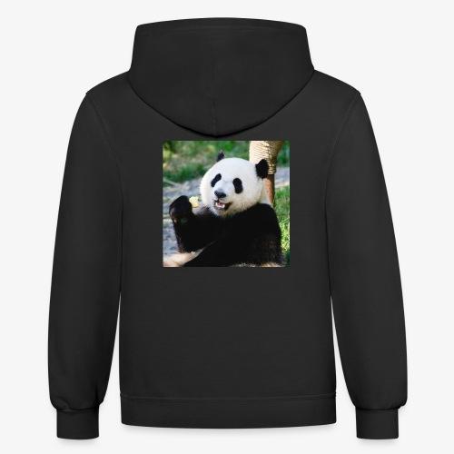 Panda Bear - Contrast Hoodie