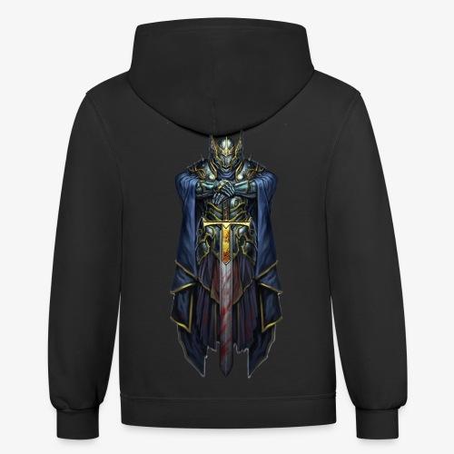 Titanium Templar Knight Logo - Contrast Hoodie