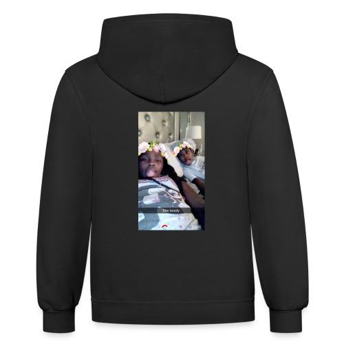 Women Fans hoodie - Contrast Hoodie