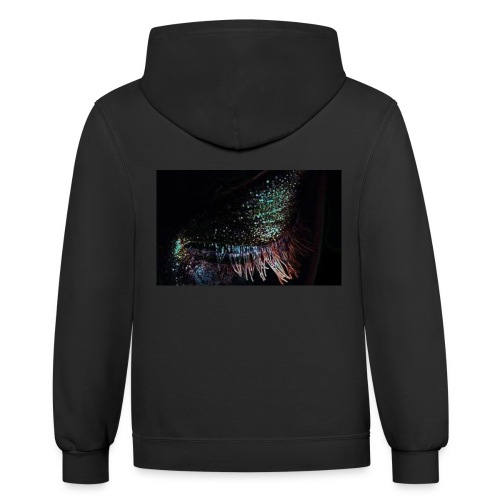 Beautiful Eye - Contrast Hoodie