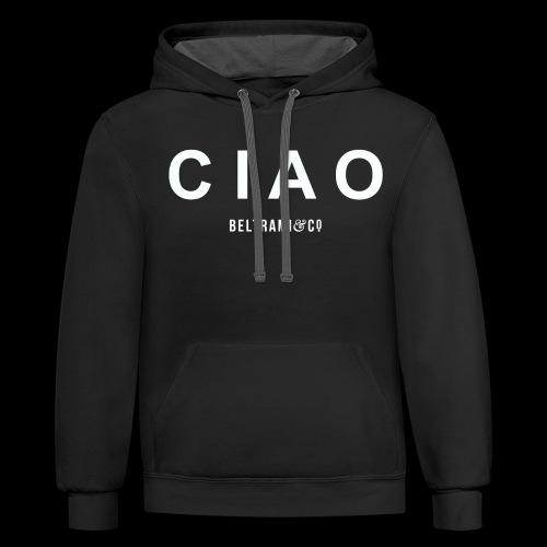CIAO - Contrast Hoodie